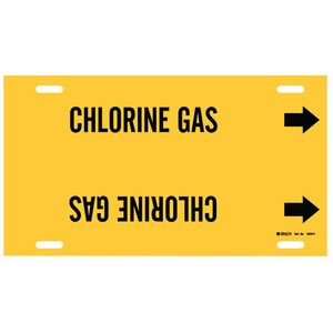 4026-F B915 STYLE F BLK/YEL CHLORINE GAS