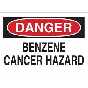 22725 CHEMICAL & HAZD MATERIALS SIGN