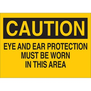 25198 PROTECTIVE WEAR SIGN