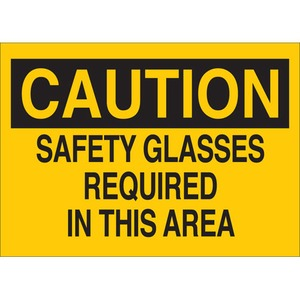 22594 EYE PROTECTION SIGN