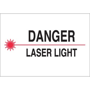 25288 RADIATION & LASER SIGN