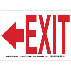 22457 DIRECTIONAL & EXIT SIGN