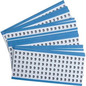 CAB-9-PK SOLID NOS CM CARD - LEGEND: 9
