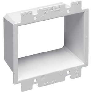 BE2 2 GANG PLASTIC BOX EXTENSION