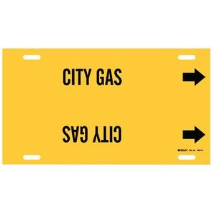 4027-H B915 STYLE H BLK/YEL  CITY GAS
