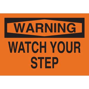 25639 FALL PROTECTION SIGN