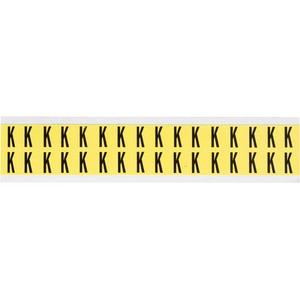 3420-K 34 SERIES NUMBER & LETTER CARD