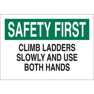23065 FALL PROTECTION SIGN