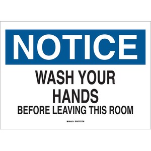 25154 PERSONAL HYGIENE SIGN