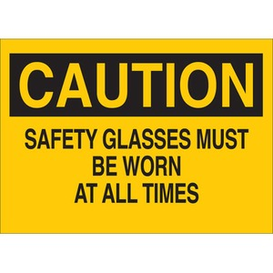 22591 EYE PROTECTION SIGN