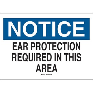 25489 EAR PROTECTION SIGN