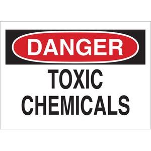 22343 CHEMICAL & HAZD MATERIALS SIGN
