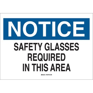 22628 EYE PROTECTION SIGN