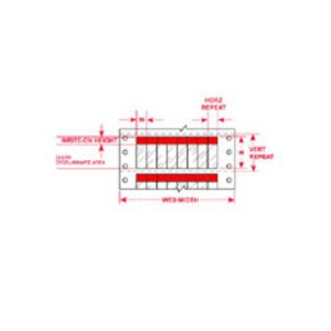"DAT-39-292-RD 1.000 INX3.750""  (25.40 MM"