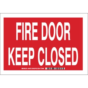 25881 FIRE DOOR KEEP CLOSED