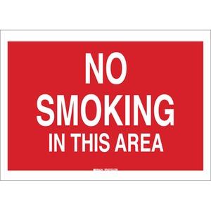 25126 NO SMOKING SIGN