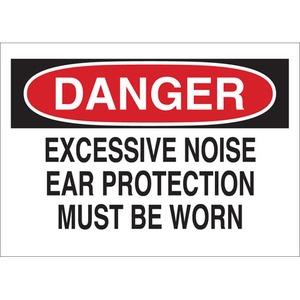 25482 EAR PROTECTION SIGN