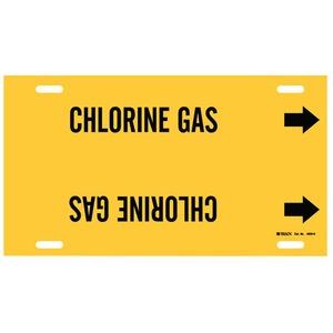 4026-H B915 STY H BLK/YEL CHLORINE GAS
