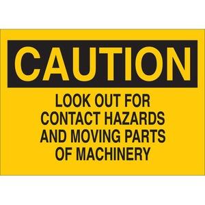 22913 MACHINE & OPERATIONAL SIGN
