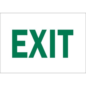 22491 DIRECTIONAL & EXIT SIGN