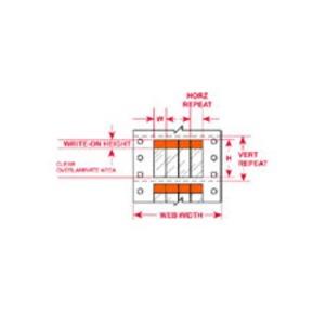 """DAT-38-292-OR 2.000 INX2.250""""  (50.80 MM"""
