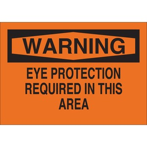 25585 EYE PROTECTION SIGN