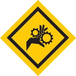 25183 MACHINE & OPERATIONAL SIGN