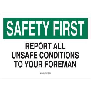 25323 SAFETY SLOGANS SIGN