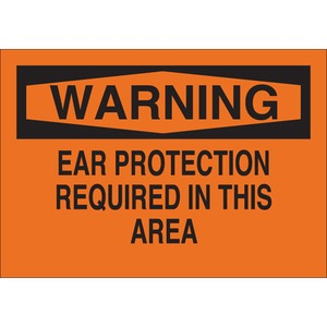 25498 EAR PROTECTION SIGN