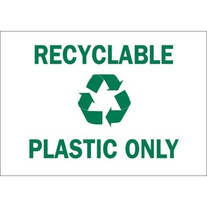 25927 RECYCLE & ENVIRONMENT SIGN