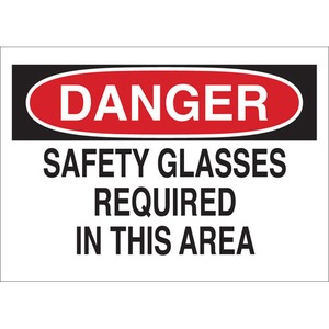 22615 EYE PROTECTION SIGN