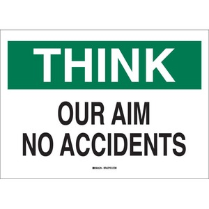 25336 SAFETY SLOGANS SIGN