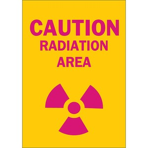 25277 RADIATION & LASER SIGN