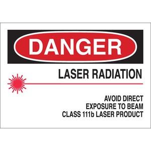 25259 RADIATION & LASER SIGN