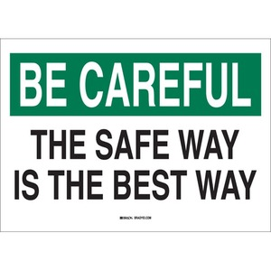 25302 SAFETY SLOGANS SIGN