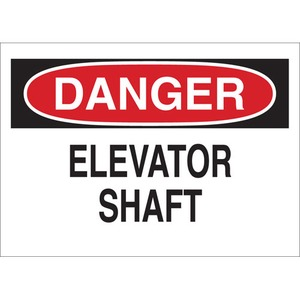 25623 FALL PROTECTION SIGN