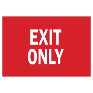 22494 DIRECTIONAL & EXIT SIGN