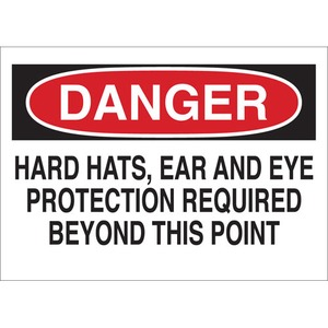 25215 PROTECTIVE WEAR SIGN