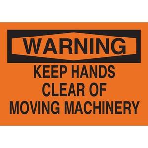 25031 MACHINE & OPERATIONAL SIGN