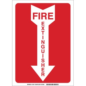 25718 FIRE SIGN